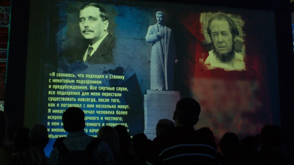 Stalin Ausstellung Russische Geschichte Moskau