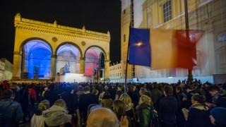 Gedenkveranstaltung für Terroropfer von Paris