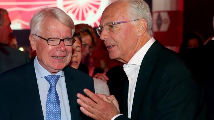Reinhard Rauball und Franz Beckenbauer