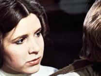 Carrie Fisher Mark Hamill Nachdem die Flucht vom Todesstern gelungen ist suchen Luke Skywalker Ma