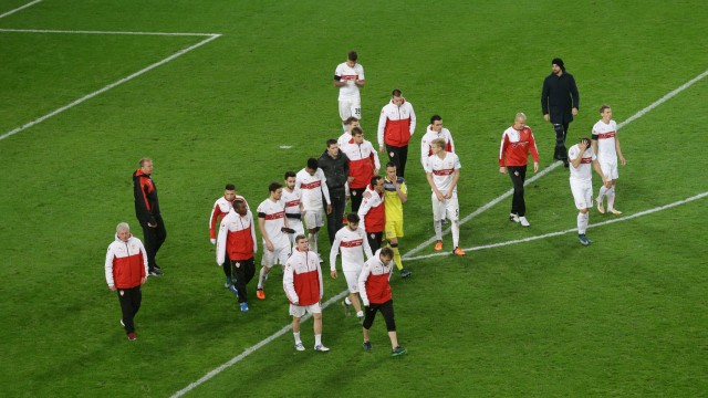 21 11 2015 Stuttgart Fußball 1 Bundesliga 13 Spieltag Saison 2015 2016 VfB Stuttgart vs FC A