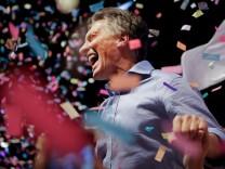 Mauricio Macri Argentinien