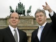 MonacoPrinz Albert, Berlins Bürgermeister Wowereit, dpa