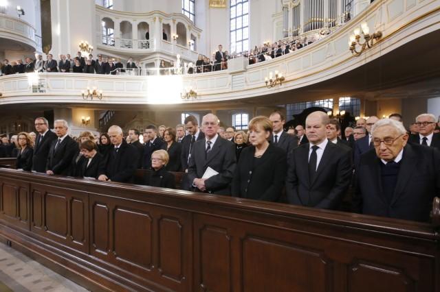 Helmut Schmidt State Funeral