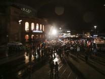 AfD-Kundgebung und Gegendemonstrationen in Mainz