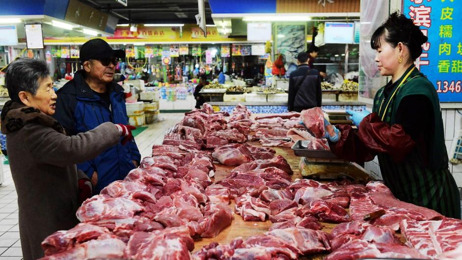Wirtschaft in China Rinderzucht