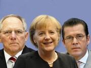 ddp, dpa, Wolfgang Schäuble, Angela Merkel, Schwarz-Gelb Koalition, Verteidigungsminister, Finanzminister