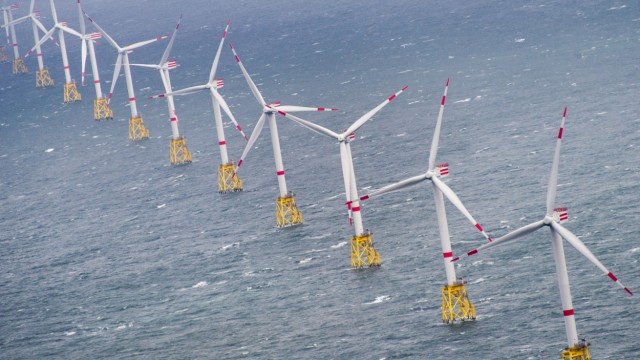 Offshore Windpark Amrum Bank West