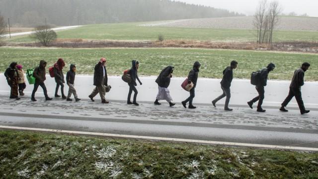 Wintereinbruch trifft Flüchtlinge