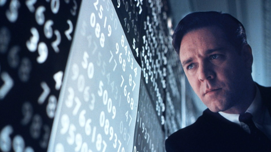 A BEAUTIFUL MIND RECEIVES SIX GOLDEN GLOBE NOMINATIONS