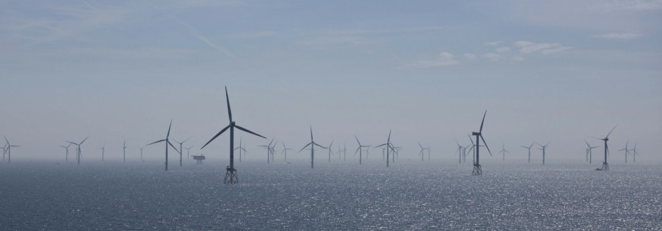 Offshore-Windpark in der Nordsee