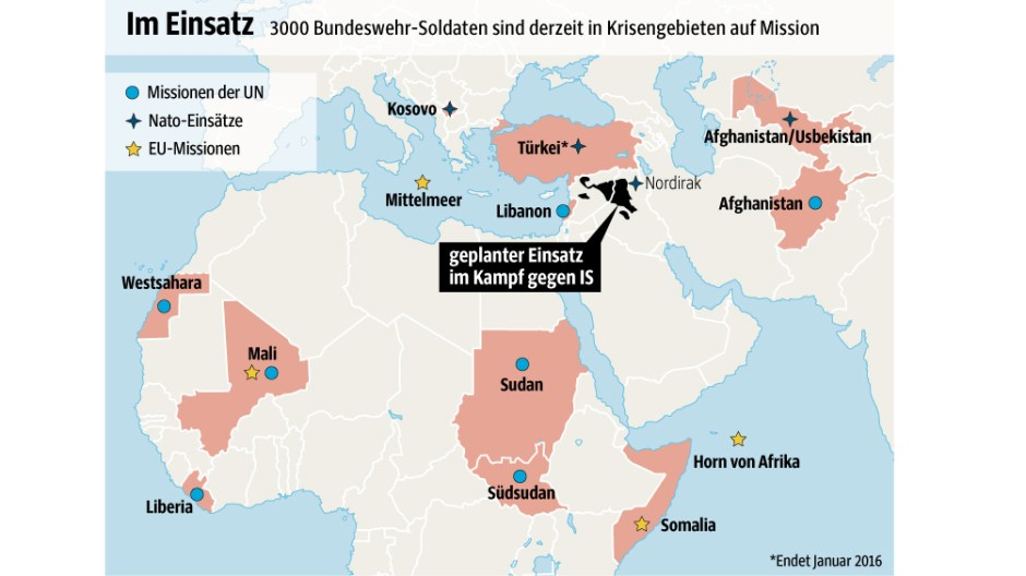 Bundeswehr-Einsätze