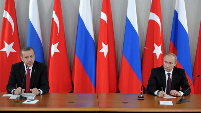 Erdogan besucht Russland