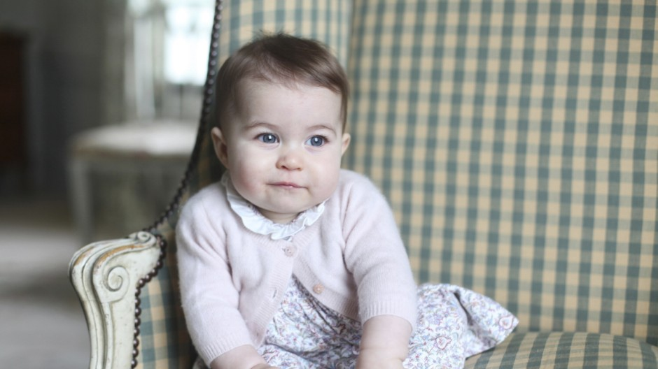 Handout photograph of Britain's Princess Charlotte taken by her mother Catherine, Duchess of Cambridge, at Anmer Hall in Sandringham
