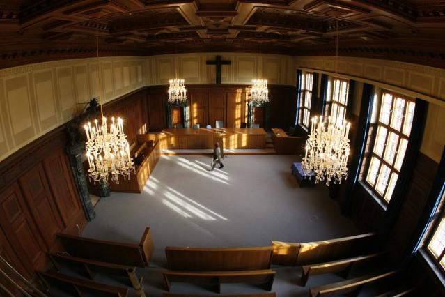 Nürnberger Justizsaal