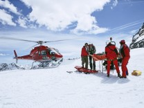 Bergrettung mit Helikopter