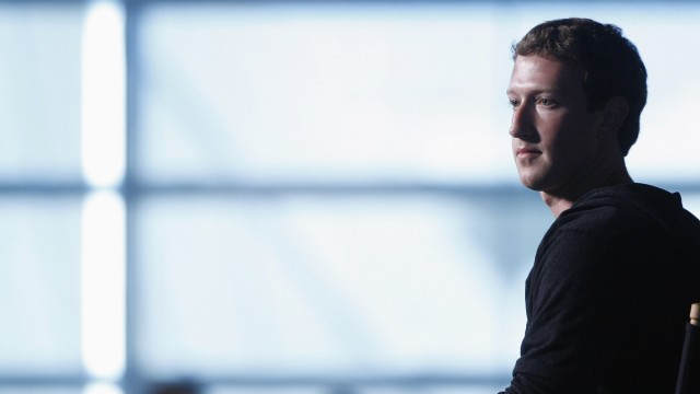 File photo of Zuckerberg sitting for audience questions in an onstage interview for the Atlantic Magazine in Washington