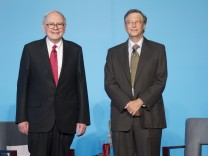 Buffett und Gates in China