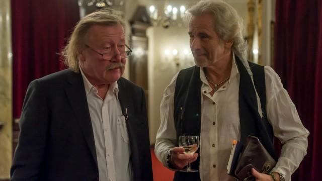 Peter Sloterdijk und Thomas Gottschalk im Gespraech die Neuuebersetzung Der kleine Prinz