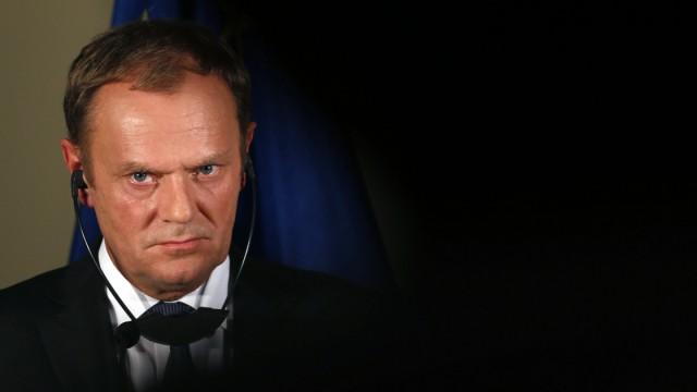 Flüchtlinge EU-Ratspräsident