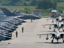 Bundeswehr-Kampfjets starten zur ILA in Berlin