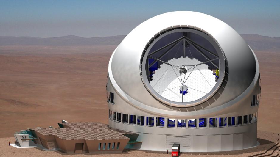 Größtes Teleskop weltweit wird auf Hawaii gebaut