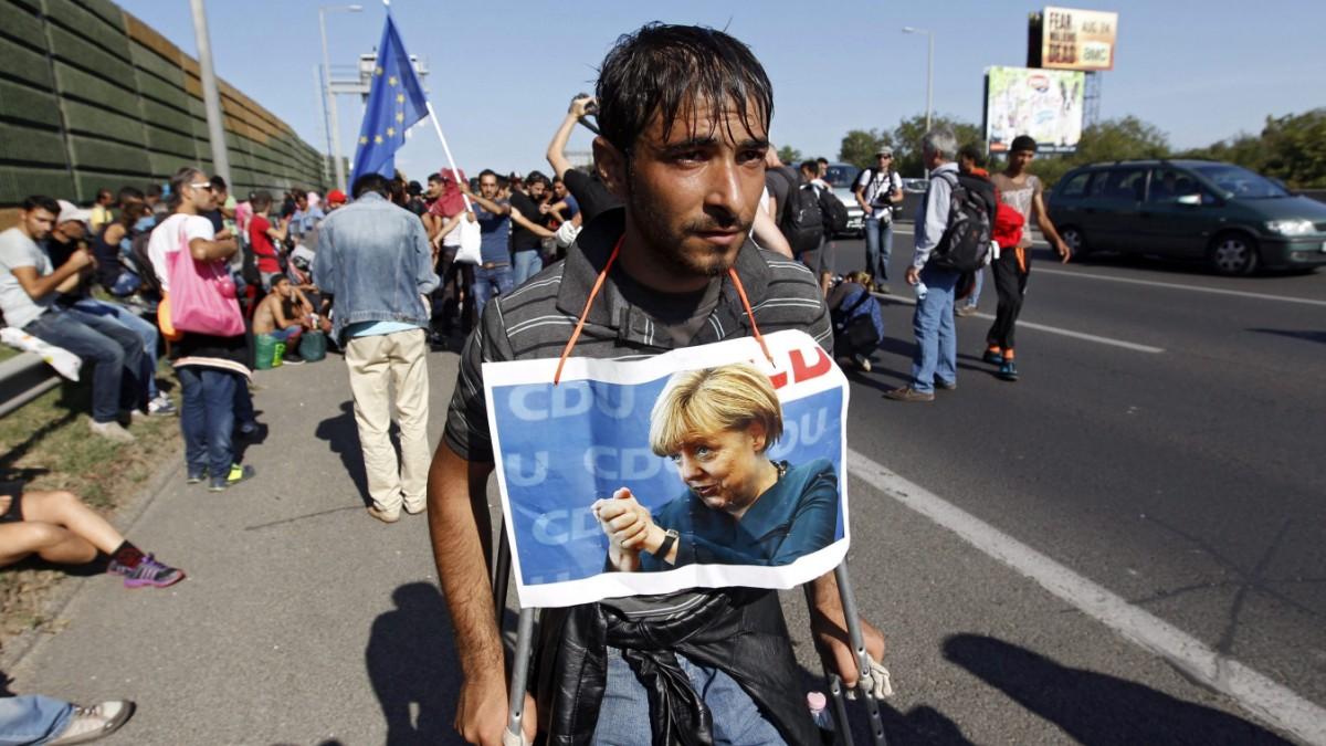Merkel steht vor einer der wichtigsten Reden ihrer Karriere