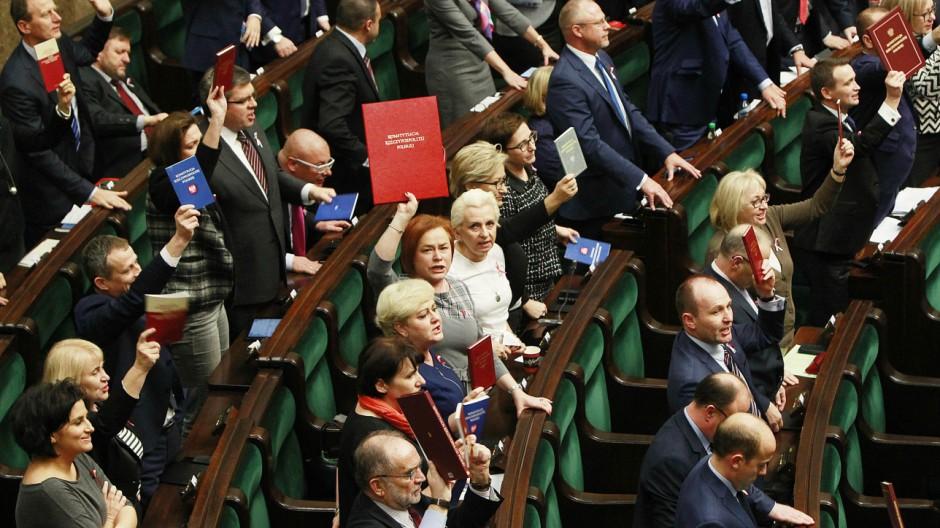 Warschau Neue Regierung