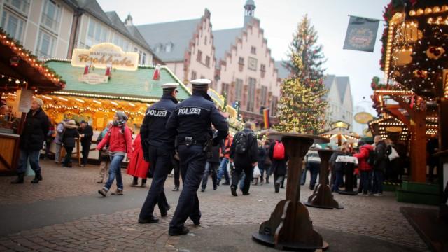 Weihnachtsmarktwache in Frankfurt