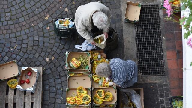 Konsum und Handel Verschwendung von Lebensmitteln
