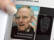Datenschutz Chaos Computer Club, Schäuble: Meinen Fingerabdruck kann jeder haben, dpa