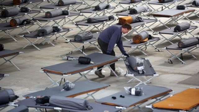 Neue Erstaufnahmestelle für Asylsuchende in Neugraben-Fischbek