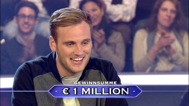 RTL 'Wer wird Millionär?' - Leon Windscheid