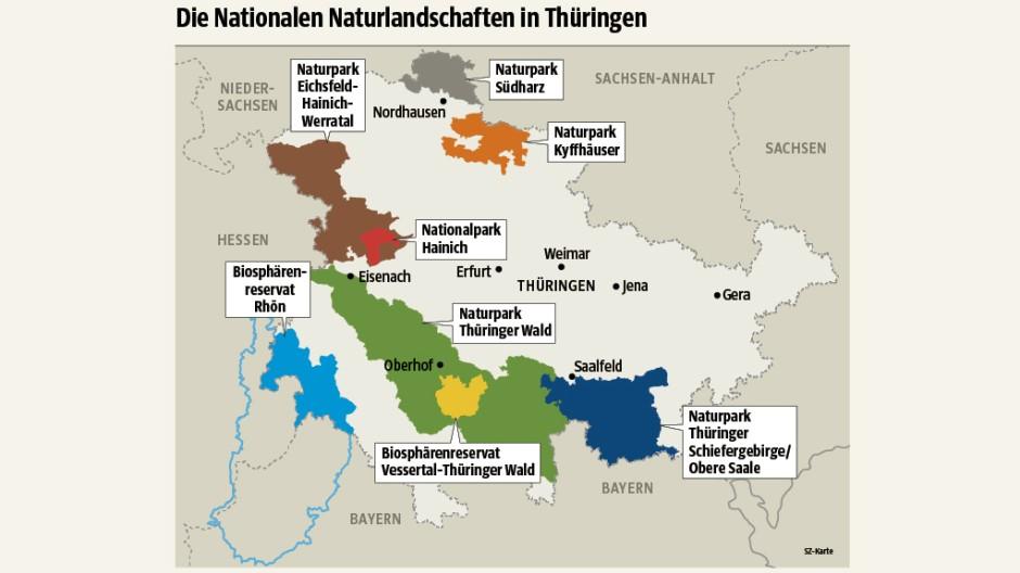Süddeutsche Zeitung Reise ThüringensBiodiversität