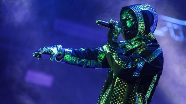 Die Band Marsimoto steht am 06 Juni 2015 während dem Musikfestival Rock am Ring in Mendig auf der B