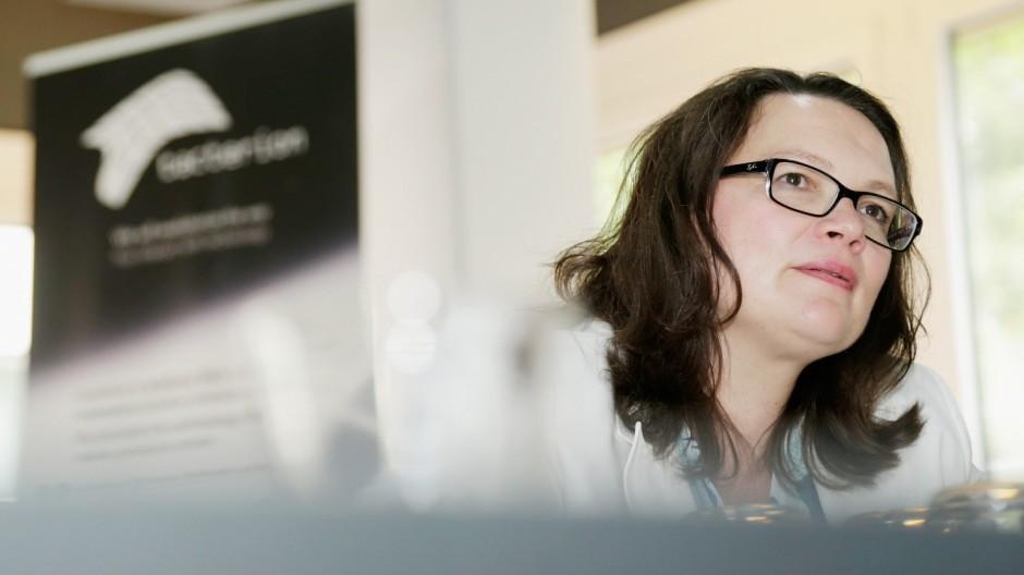Andrea Nahles Visits ProGlove Startup