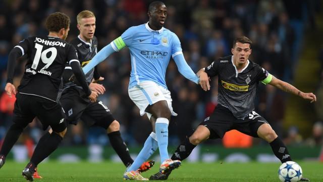 Manchester City vs Borussia Moenchengladbach