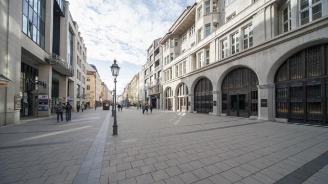Fußgängerzone in der Sendlinger Straße in München, 2015