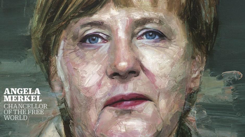 "Angela Merkel auf dem ""Time""-Titel"