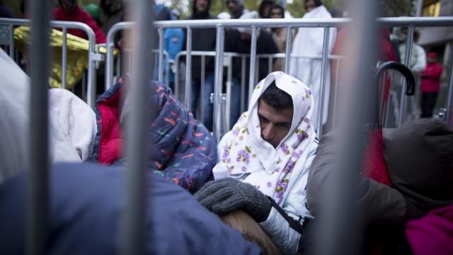Flüchtlinge am LaGeSo