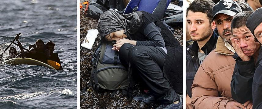 Flüchtlinge Krisenjahr 2015