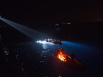 Turkish Coastal Guard search and rescue operations for refugees i