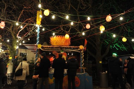 Haidhausen Weihnachtsmarkt.Christkindlmarkt Marchenbazar Munchen Suddeutsche De