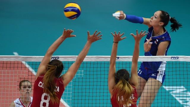 Russia v Mexico - FIVB Women's World Championship