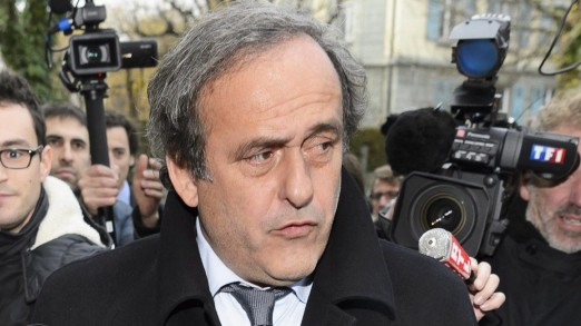 UEFA president Michel Platini at CAS in Lausanne