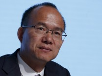 File photo of billionaire Guo Guangchang, Executive Director and Chairman of Fosun International, attending the annual general meeting in Hong Kong
