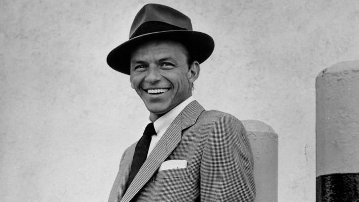 Frank Sinatra On The Lot