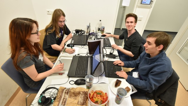 Game Jam Game Jam an der TU in Garching