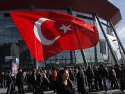 Erdogan Türken Türkei Assimilation Auftritt Köln-Arena dp