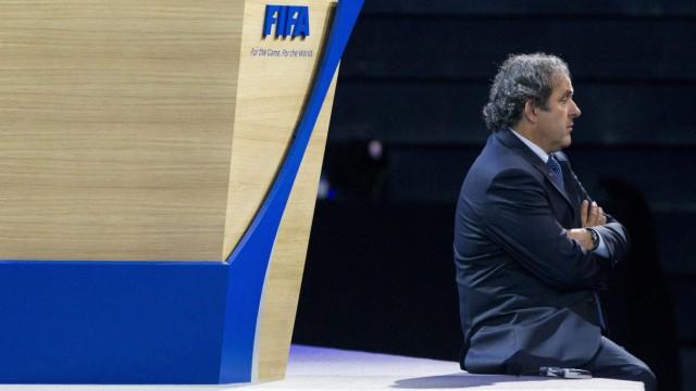 Fifa-Affäre Suspendierter Uefa-Präsident